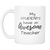 Image of Awesome Teacher Mug