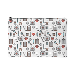 Doctor and Nurse Carry-All Pouch White