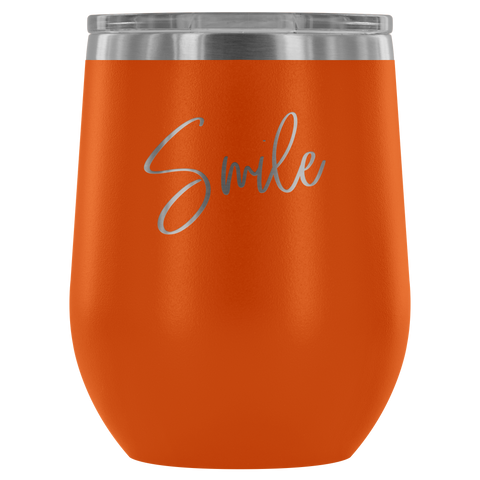 Wine Tumbler - Smile With a Purpose