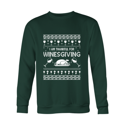 Ugly Christmas Sweater - Winesgiving - 50% OFF