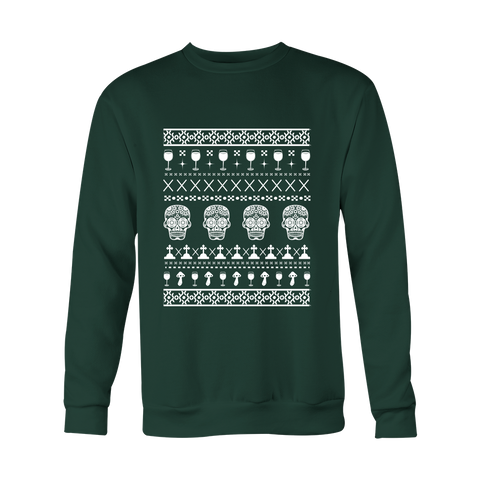 Ugly Christmas Sweater - Skulls - 50% OFF