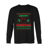 Ugly Christmas Sweater - Meowy Colors - 50% OFF