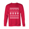 Image of Ugly Christmas Sweater - Skulls - 50% OFF
