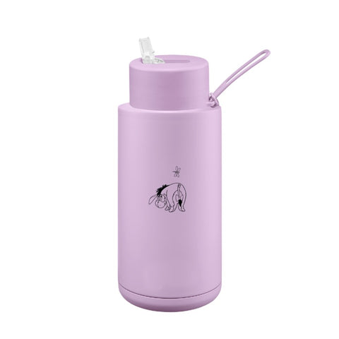 Frank Green | Ceramic Reusable Bottle 34oz | Eeyore Straw Lid