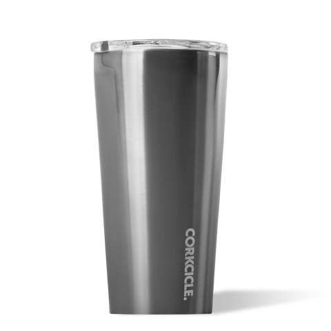 Corkcicle | Insulated Metallic Stainless Steel Tumbler 475ml | Gunmetal