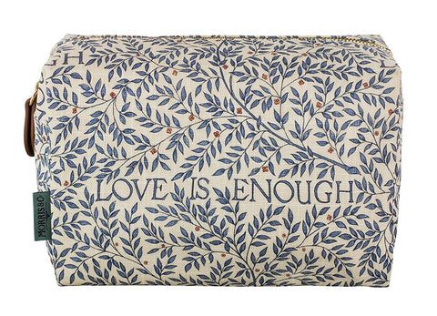 Morris & Co | Cosmetic Bag | Love is Enough
