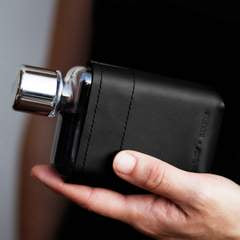 Memobottle | Leather Sleeve | A7 | Black