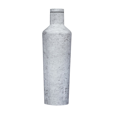 Corkcicle | Origins Canteen | Insulated Stainless Steel Bottle 750ml | Concrete