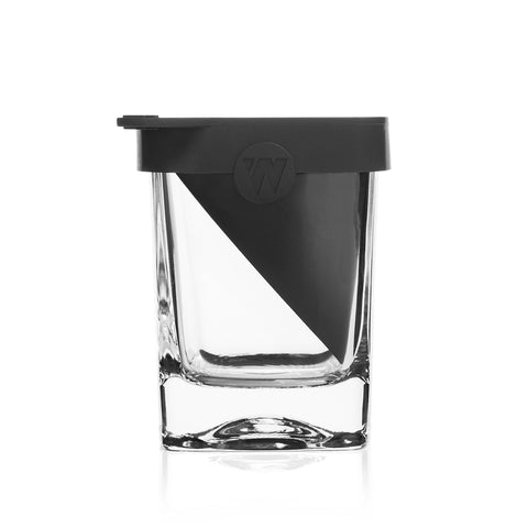 Corkcicle | Barware Whisky Wedge Glass with Ice Mold