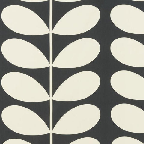 Orla Kiely | Fabric | Giant Stem | Cool Grey