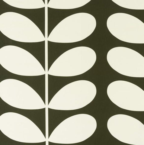 Orla Kiely | Fabric | Giant Stem | Khaki