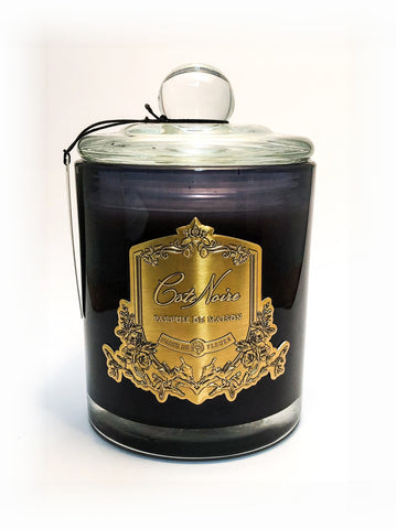 Côte Noire Candle - Jasmine flower Tea 450g - Gold
