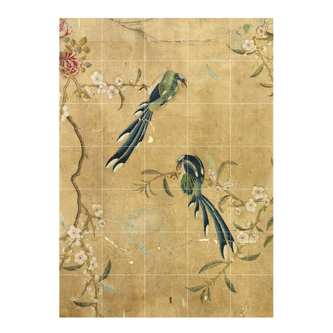 IXXI | Wall Art | Chinese Wallpaper No 5 (Gold)
