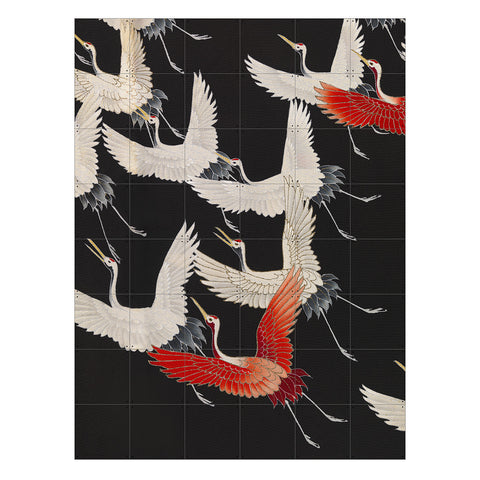 IXXI | Wall Art (Double Sided) | Kimono With Cranes