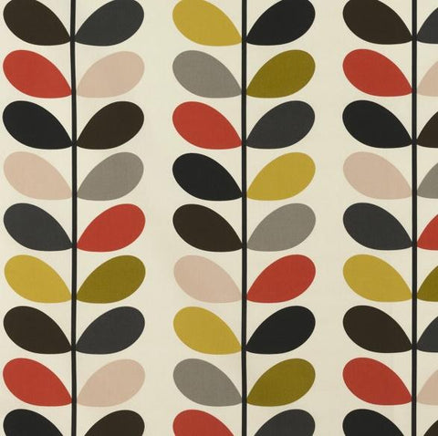 Orla Kiely | Fabric | Multi Stem | Tomato
