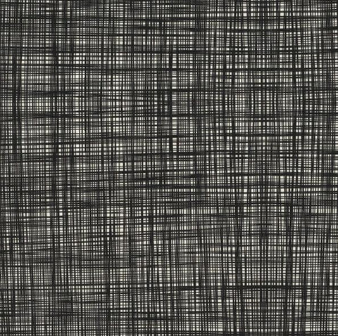 Orla Kiely | Fabric | Scribble | Gun Metal