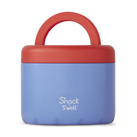 S'WELL | S'NACK Insulated Food Bowl | Blue Cornflower | 710ml