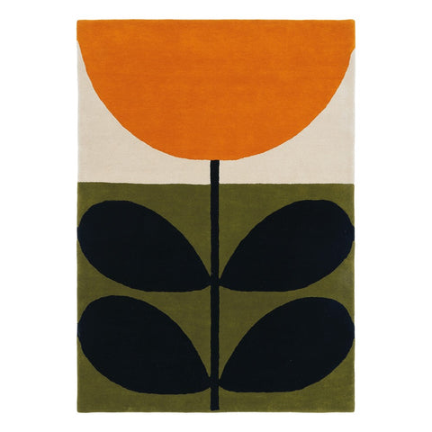 Orla Kiely | Rug | Stem Black - 59803