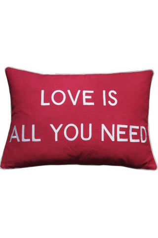Barbara Coupe | Cushion | Love is All You Need