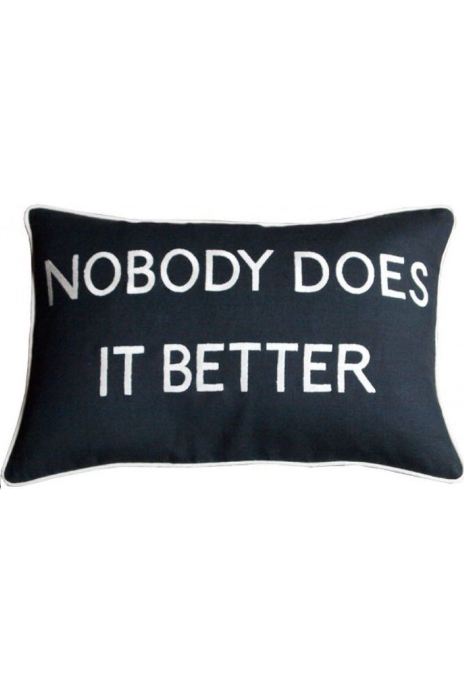 barbara coupe cushion black nobody does it better home