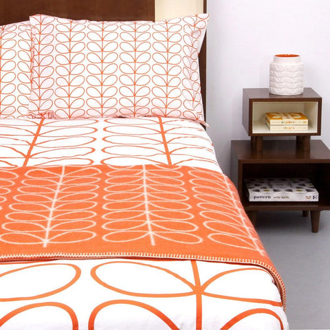 Orla Kiely Bed Linen - Large Linear Stem Print - Home Interiors