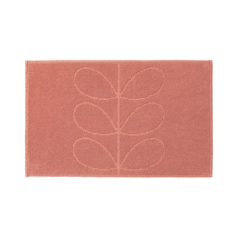 Orla Kiely | Bath Mat | Bubble gum