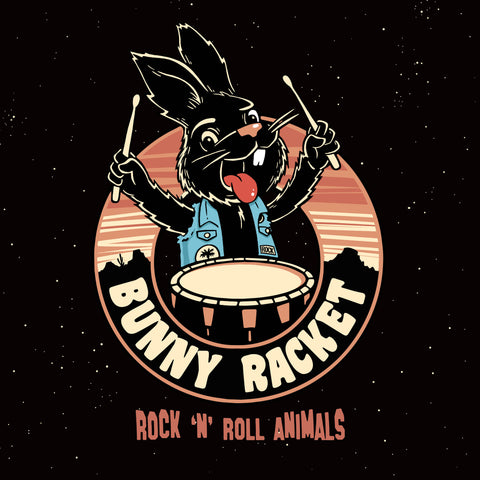 Bunny Racket - Rock'n'Roll Animals LP!