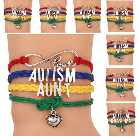 Autism Awareness Love Bracelet - Giveaway