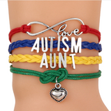Autism Awareness Love Bracelet