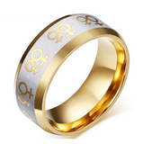 LGBT Titanium Fashion Ring Offer