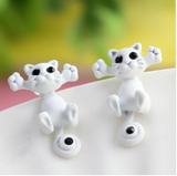 Cute Colorful Cat Earrings Giveaway