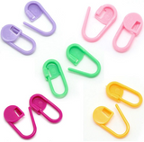 200pcs Multi Color Knitting/Weave/Crochet Locking Clip Markers