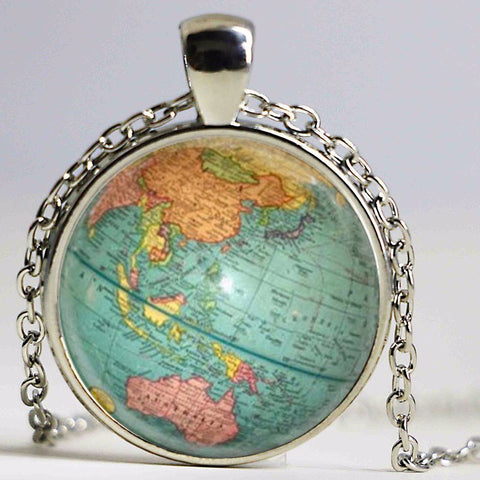 FREE WORLD MAP NECKLACE