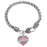 Teacher Heart Bracelet Giveaway