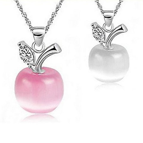 Apple Teacher Appreciation Necklace
