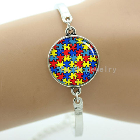 Autism Awareness Puzzle Piece Bracelet Giveaway