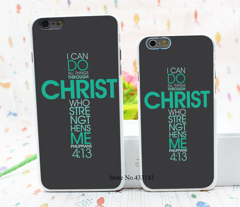 Philippians 4:13 Bible Verse iPhone Case Giveaway: for 6 6s 6 plus 6s plus