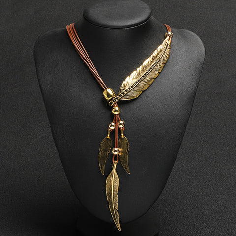 FEATHER NECKLACE - Giveaway