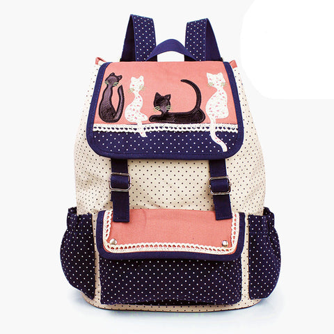 Adorable Cats Backpack - Free Worldwide Shipping!