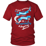 """I Love Someone With Autism To The Moon And Back"" Shirt/Hoodie"