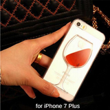 CUTE WINE IPHONE CASE