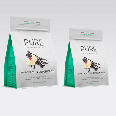 PURE WHEY PROTEIN POUCH - VANILLA BEAN - PURE Sports Nutrition