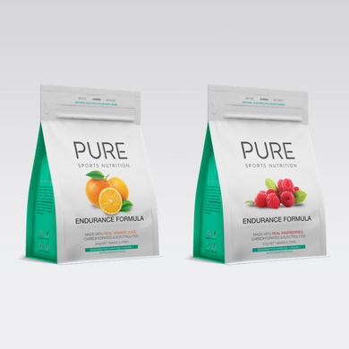 PURE ENDURANCE FORMULA 500G POUCH - PURE Sports Nutrition