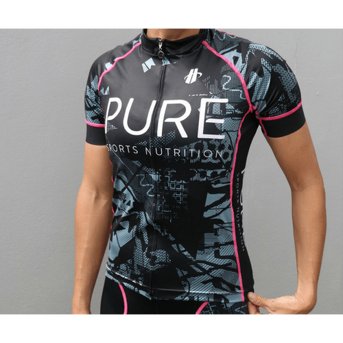 Women's Velocity Cycle Jersey - PURE Sports Nutrition