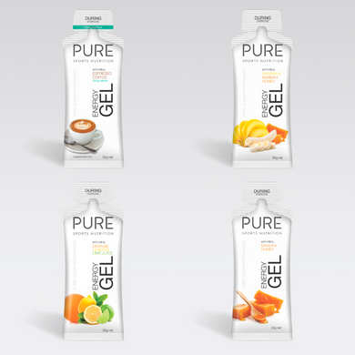 PURE ENERGY GELS 35G  SAMPLE PACK - PURE Sports Nutrition