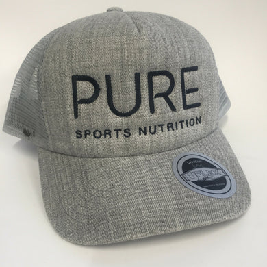 Trucker Cap - Grey - PURE Sports Nutrition
