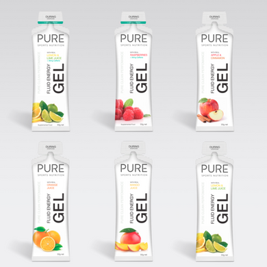 PURE FLUID ENERGY GELS 50G - PURE Sports Nutrition
