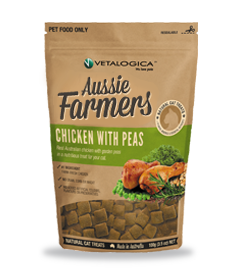 Aussie Farmers - Chicken with Peas Treats for cats