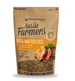Aussie Farmers - Duck and Potato Treats for cats