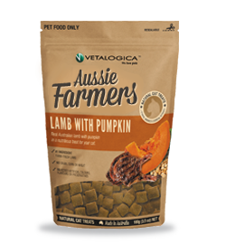 Aussie Farmers - Lamb with Pumpkin Treats for cats